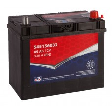 Battery AD 45Ah 330A - + small terminals