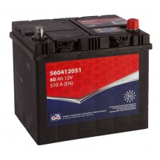 Battery AD 60Ah 510A - +