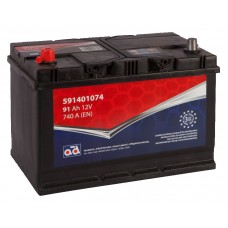 Battery AD 91Ah 740A + -