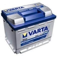 Varta Blue 60Ah 540A 242x175x190 D24